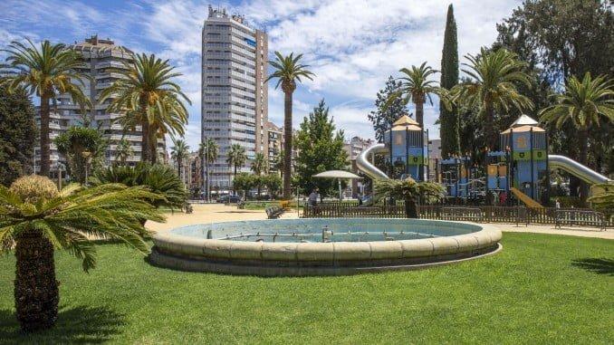 Los trabajos de rehabilitación de la fuente del Parque de las Palomas comienzan mañana