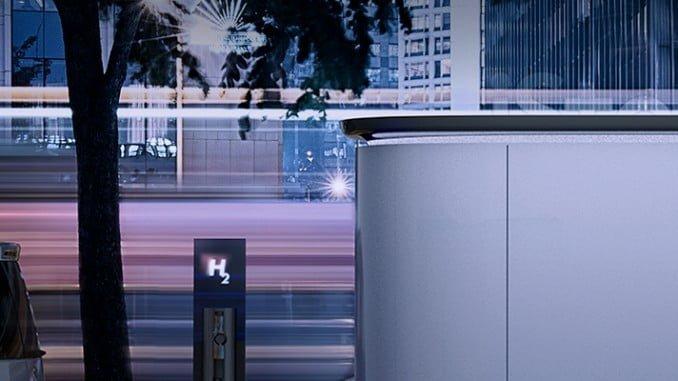Estaciones de repostaje para coches de hidrógeno.