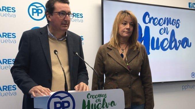 Los populares Pilar Miranda y Manuel Andrés González