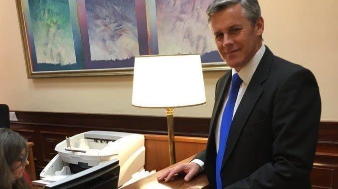 El diputado de Ciudadanos en el Congreso Javier Cano