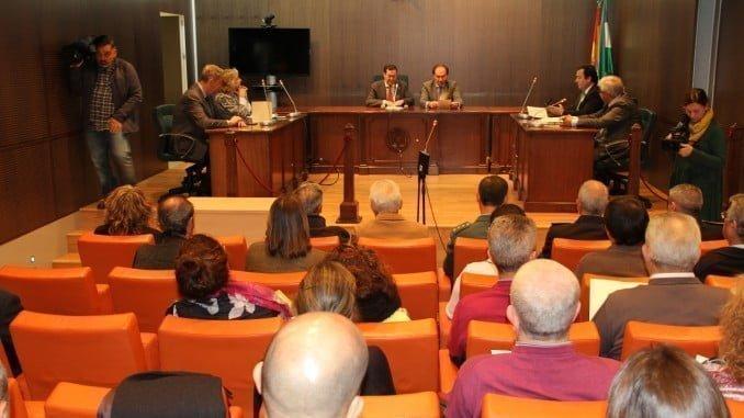 Inauguración del VI Encuentro con los Jueces y Secretarios de Paz