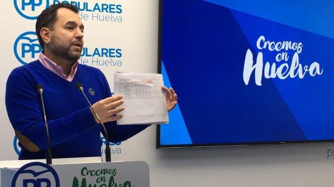 José Domingo doblado, viceportavoz  del PP en la Diputación