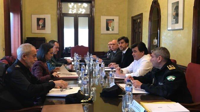 Reunión de la Junta Local de Seguridad para coordinar las actuaciones de cara a las navidades