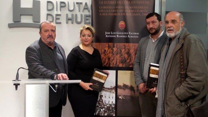 Presentación del libro 'La guerra de Cuba en Huelva', de José Luis Gozálvez y Antonio Ramírez Almanza