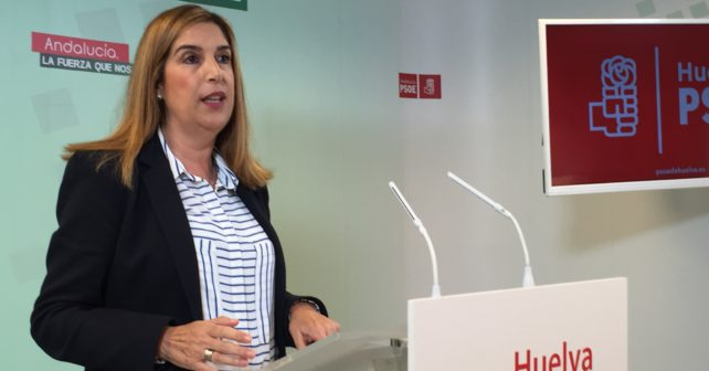 La parlamentaria socialista Manuela Serrano