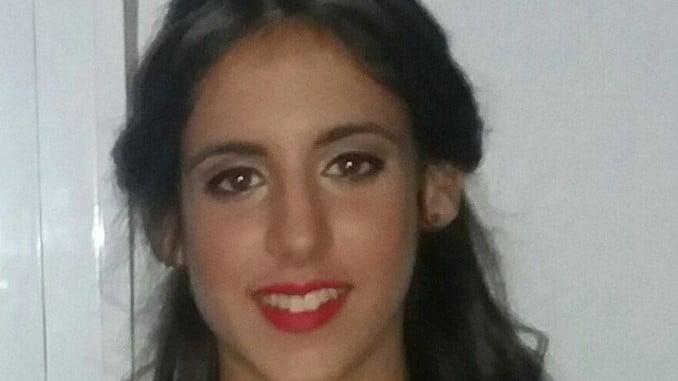 María Adela Rodríguez, de 16 años, se encuentra desaparecida desde la madrugada del domingo