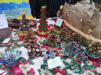 Mercadillo navideño en Almonte