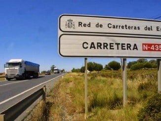 El Gobierno construirá una glorieta en el kilómetro 198,050 de la N-435, en Valverde
