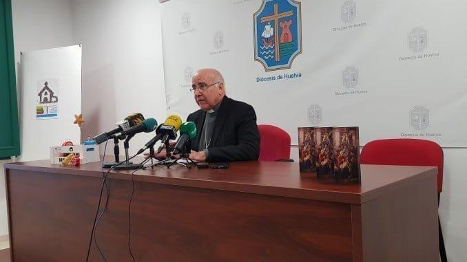 El obispo de Huelva en su tradicional mensaje de Navidad