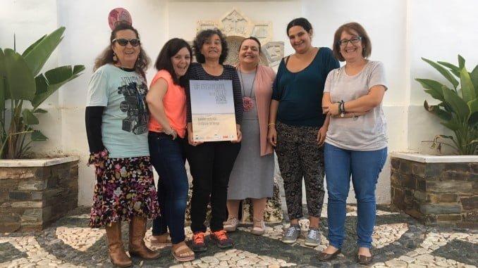 Participantes del taller de Paymogo en el programa 'La cápsula del tiempo'