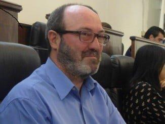 Pedro Jiménez en un Pleno de la Diputación Provincial