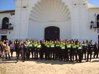 El Rocío contará estas navidades con más efectivos de la Policía Local