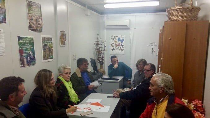 Reunión de Ciudadanos con la Asociación de Vecinos Las Cigüeñas