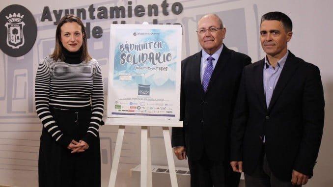 Presentación de la iniciativa iniciativa impulsada por el Club Recreativo Bádminton IES La Orden que cuenta con la colaboración de la Fundación Atlantic Copper y del Ayuntamiento de Huelva