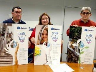 La empresa pública Giahsa presenta la campaña publicitaria 'Siente el agua'