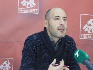 Rafael Sánchez Velo, secretario PCA Huelva