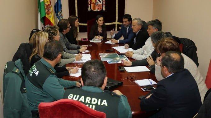 Reunión para reforzar la seguridad de la navegación en la Flecha del Rompido