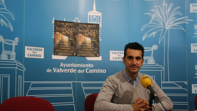 Rueda de prensa sobre el Concierto de Navidad de Valverde del Camino