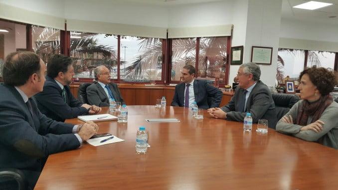 Jornada de trabajo entre las autoridades portuarias de Huelva y de la Bahía de Algeciras