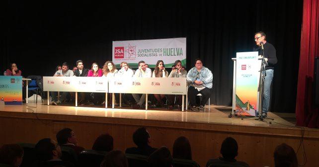 Ignacio Caraballo en el XVI Congreso de Juventudes Socialistas