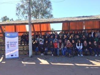 La jornada de convivencia ha sido organizada por el Centro de Información Europea de la Diputación