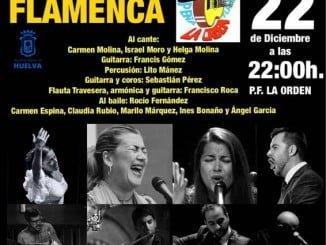 Cartel anunciador de La Navidad Flamenca de La Orden