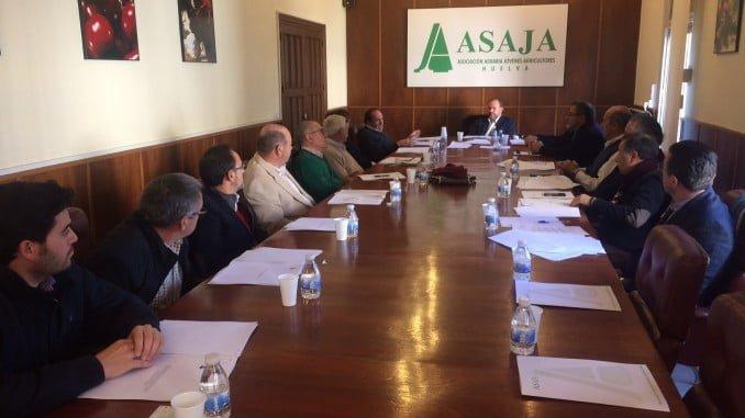 Última Junta directiva del año en Asaja-Huelva