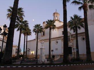 La Iglesia Parroquial de La Palma fue finalizada en el año 1768, sobre una antigua iglesia de estilo mudéjar