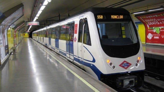 El transporte por metro aumenta un 5,8% en octubre