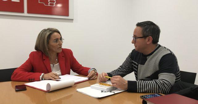 La socialista Pepa González Bayo se ha reunido con Acaip