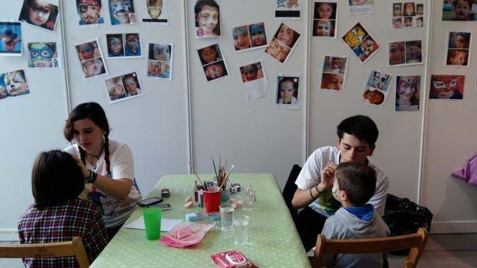 Una de las actividades que se desarrolla en la Feria de la Infancia y Juventud de Aracena