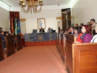 Sesión Plenaria en la Diputación Provincial de Huelva celebrada hoy