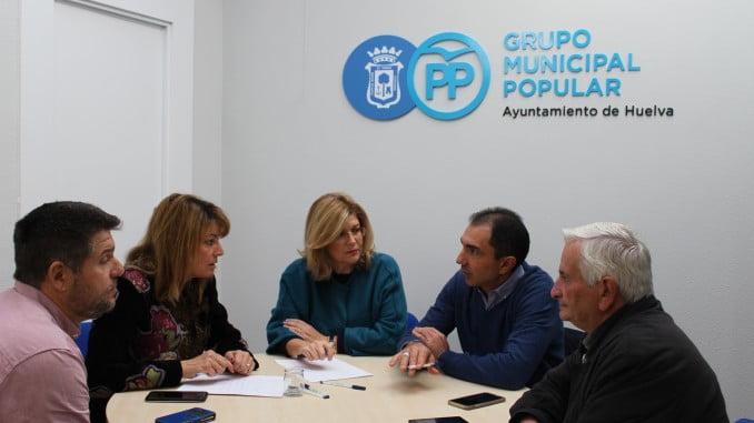 Pilar Miranda y Berta Centeno se reúnen con responsables de Ferrovial