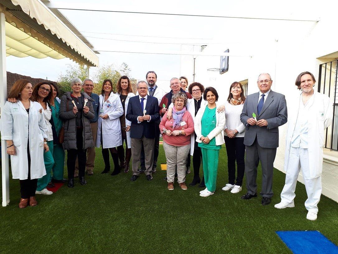 Inauguración del nuevo espacio para los menores de la Unidad de Salud Mental Infanto-Juvenil del Vázquez Díaz