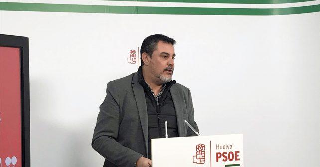 El parlamentario andaluz del PSOE por Huelva Jesús Ferrera