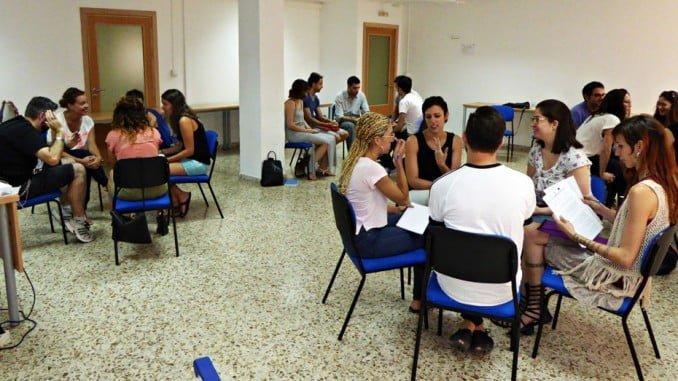 Participantes en una Lanzadera de Empleo