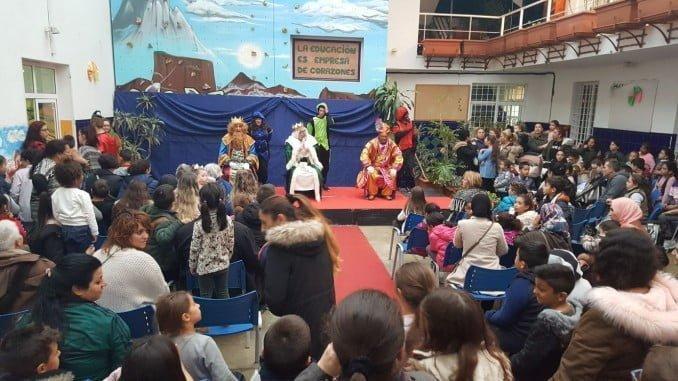 Acto de los Reyes Magos en Fundación Valdocco.