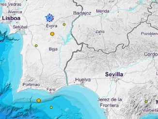 Pese a la distancia del epicentro en el Alentejo portugués, el seísmo se notó en toda la provincia de Huelva al haberse producido a poca profundidad