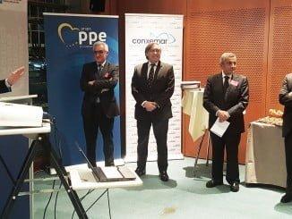 El secretario general de Pesca, Alberto Lopez-Asenjo ha participado en la presentación, ante el Parlamento Europeo, del catálogo de especies pesqueras