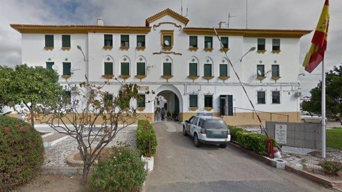 Cuartel de la Guardia Civil en Ayamonte