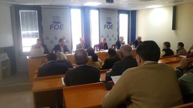 La junta directiva de la FOE insta a poner en marcha de inmediato las obras del necesario aeropuerto Cristóbal Colón