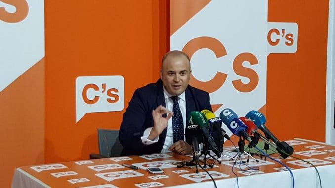 Julio Díaz, portavoz de Ciudadanos en Huelva