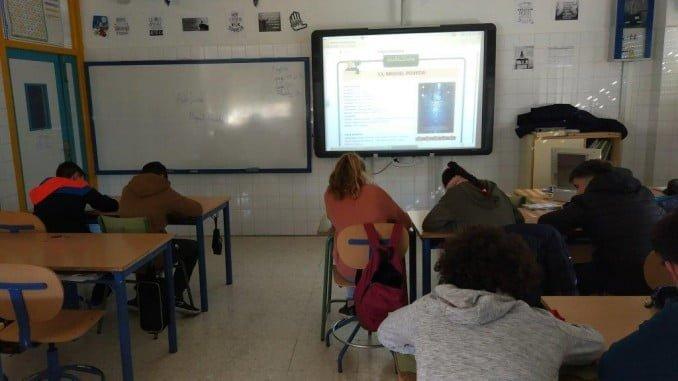 El programa AulaDCine está impulsado por las consejerías de Educación y de Cultura