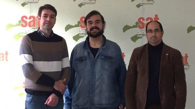 Andalucía Por Sí (AxSí) y el Sindicato Andaluz de Trabajadores /as (SAT) han mantenido durante esta mañana en su sede nacional una reunión