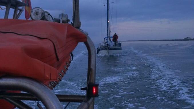 La embarcación de intervención rápida de Cruz Roja Huelva, 'LS Calipso'