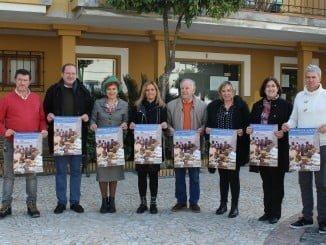 Presentado en Aljaraque el cartel de 'Caravana por la Paz'
