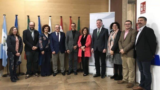 El acuerdo en materia de cooperación internacional se ha firmado en la Diputación de Huelva