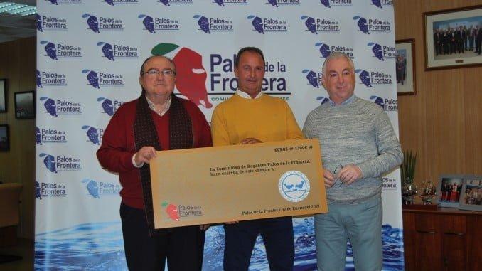 Juan Manuel Díaz Cabrera junto a Dámaso Cerezo y Fernando Sánchez