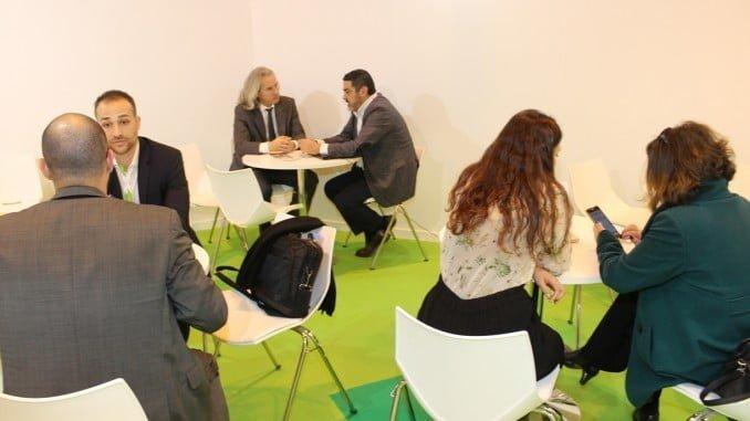 Fitur ha posibilitado numerosos encuentros con empresarios de la oferta onubense