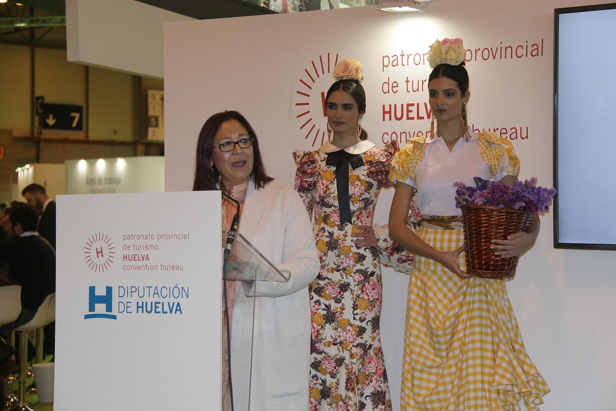 La alcaldes de Almonte presenta en Fitur Doñana D´Flamenca